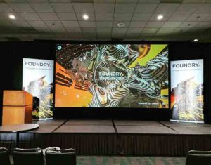 Presentation at Foundry Booth Siggraph 2019